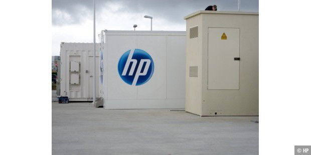 HP POD RZ Container Logo