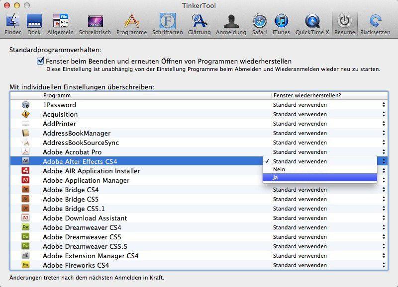 Systemeinstellungen Ohne Terminal In Os X Lion ändern Macwelt