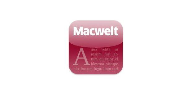 Icon Macwelt App iPad