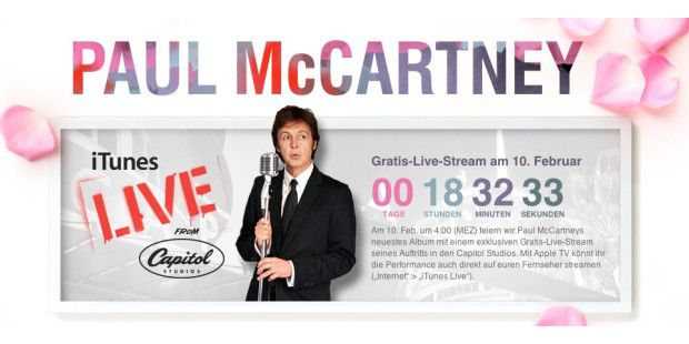 Paul McCartney iTunes Live