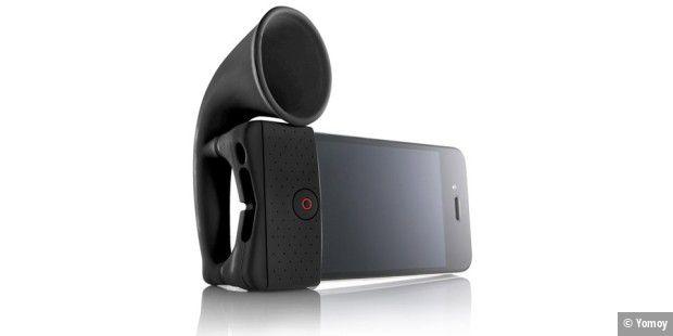 Top Horn iPhone Lautsprecher - Altbewährtes erobert das Smartphone EI17