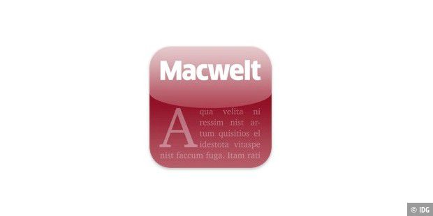 Icon Macwelt iPad App