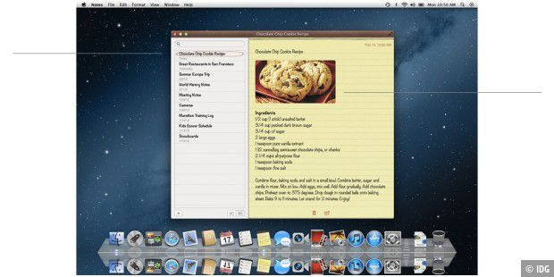 Mountain Lion: Notizen