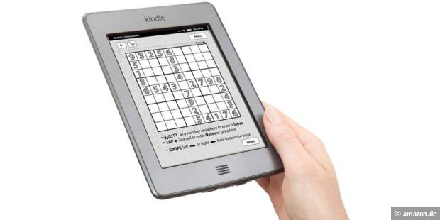 Kindle-E-Reader mit Farb-Display in Planung? (c) amazon.de
