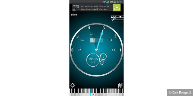 CarlTune - Chromatic Tuner