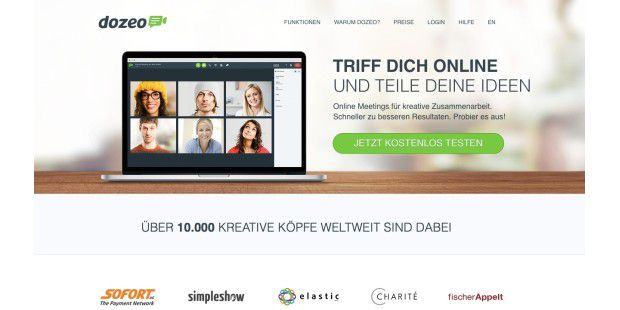 Dozeo: Produktive Online-Meetings