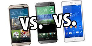 Soundcheck: HTC One M9 vs. One M8 vs. Xperia Z3
