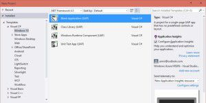 Preview-Version von Visual Studio 2015