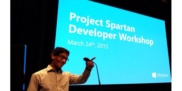 Project Spartan Developer Workshop am 24. März 2015