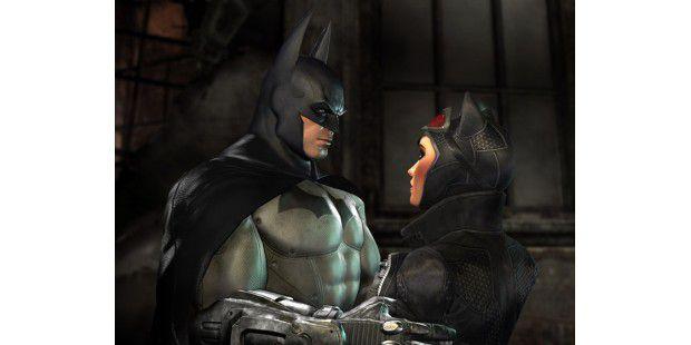 Neben Batman treffen wir im Spiel unter anderem auch auf Catwoman.