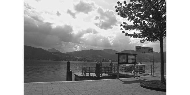 Hier das Ergebnis: eine in iPhoto erstellte Schwarz-Weiß-Umsetzung
