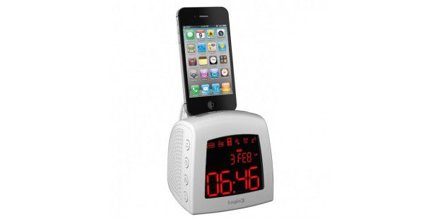 Logic 3 i-Station Time Curve mit iPhone
