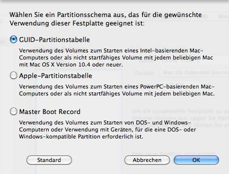 Was ist guid partitionstabelle