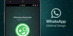 WhatsApp erhält Googles Material-Design