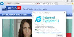 Der Oldie: Internet Explorer in Windows 10