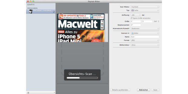 Ein Scanner für alle Mac-Benutzer im Netz