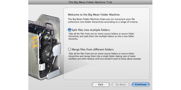 Big Mean Folder Machine