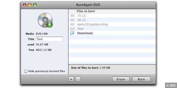 Burn Again DVD