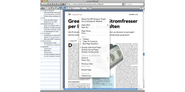 PDF Browser