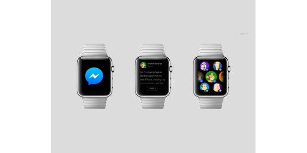Apple Watch: App-Designs