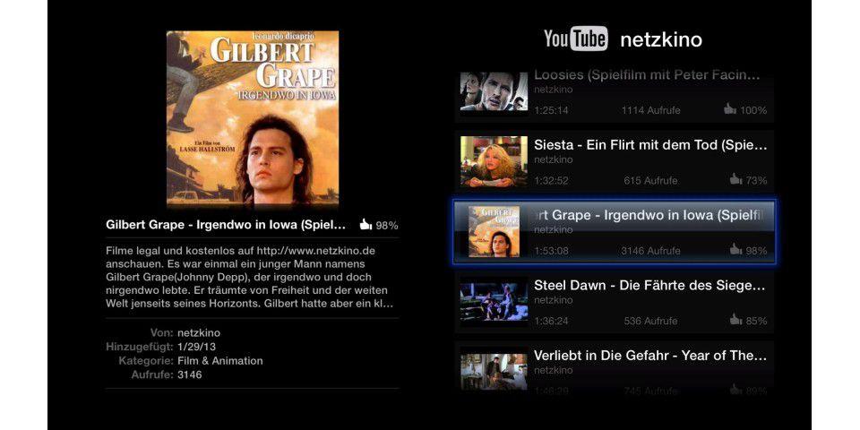 Tolle Gratis-Inhalte für das Apple TV