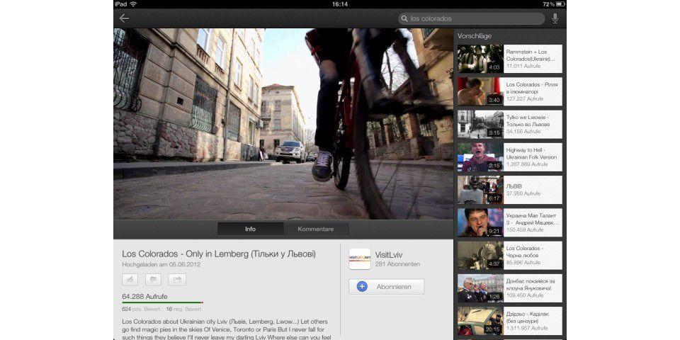 Google Apps für das iPad