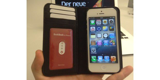Bookbook für iPhone 5 im Hands-On