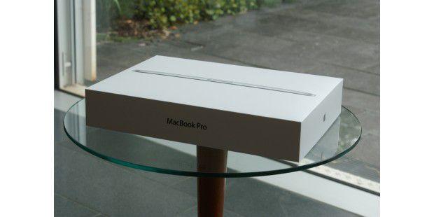 Das neue Macbook Pro Retina ausgepackt