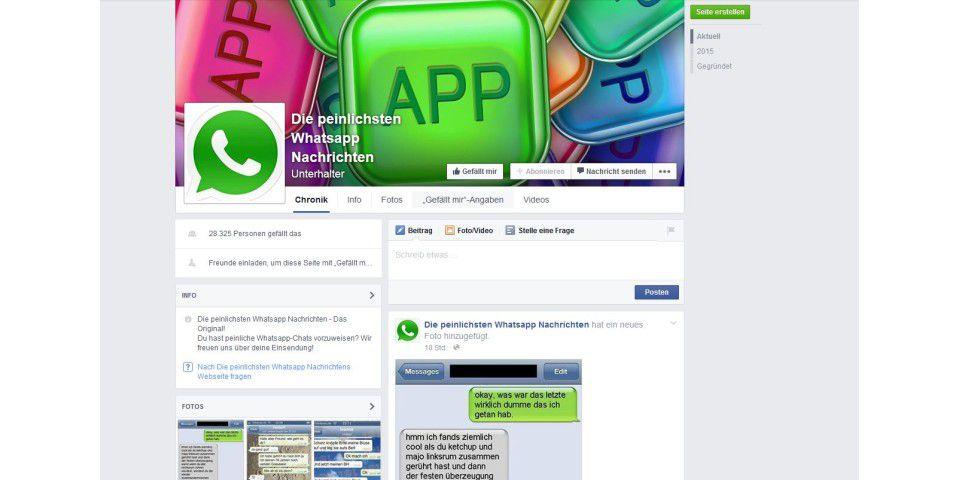 Die peinlichsten Whatsapp-Nachrichten