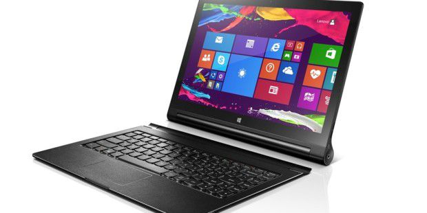 Günstiges Allround-Tablet: Lenovo Yoga Tablet 2 10 mit Windows