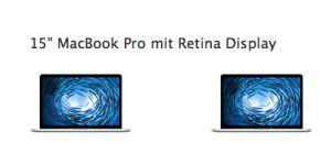 Macbook Pro 15 Zoll Retina und iMac Retina 5K neu