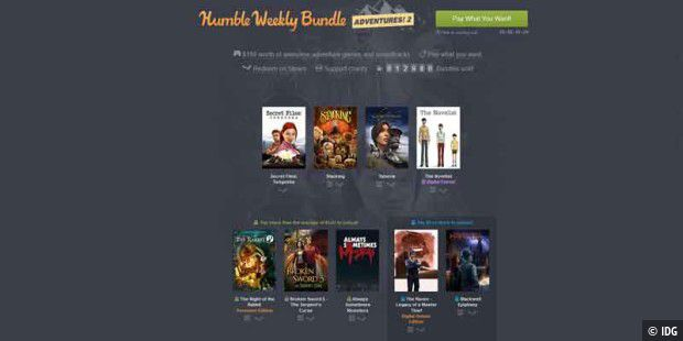 Das neue Humble Bundle Weekly enthält Adventures