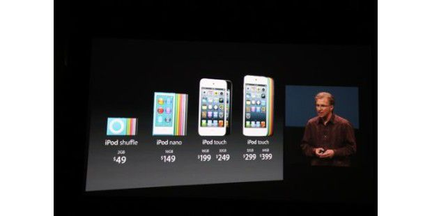 Apple stellt iPhone 5 vor - iPods renoviert
