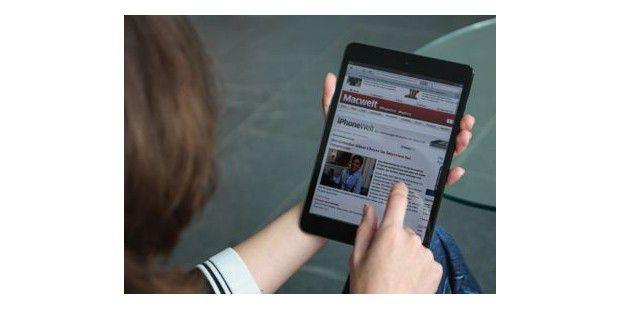 iPad Mini im Macwelt-Labor ausprobiert
