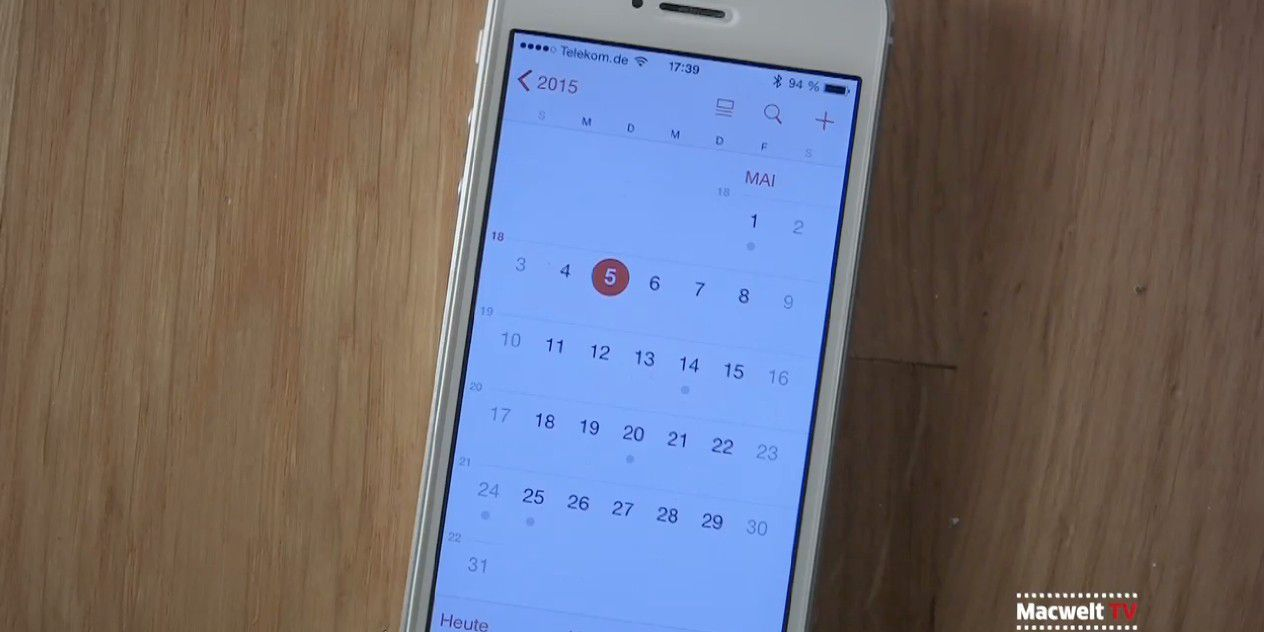 Workshop Kalender-App