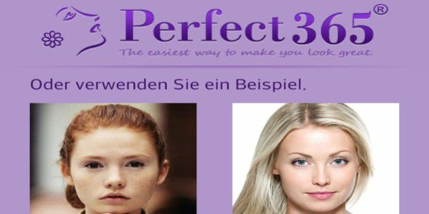 Perfect365: Gesichts-Make-Up