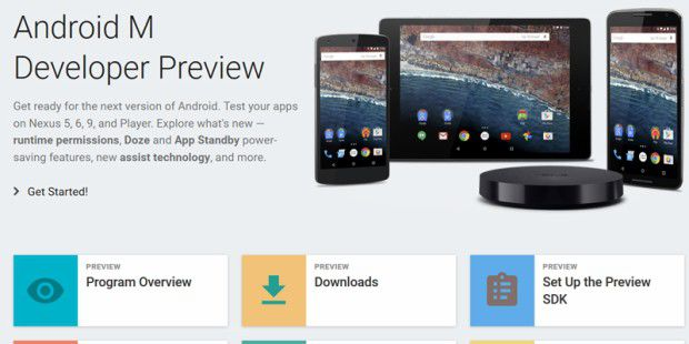 Android M Developer Preview steht zum Download bereit