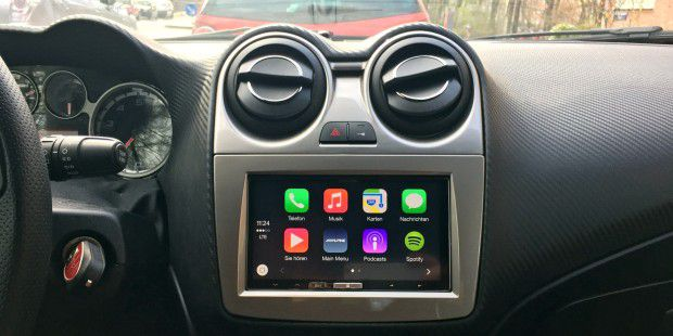 Alpine Carplay ausprobiert
