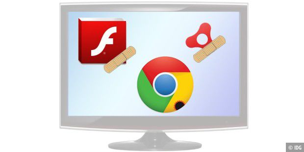 Updates für Flash Player und AIR