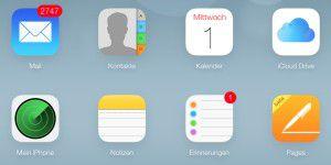Zweistufige Bestätigung für iCloud einrichten