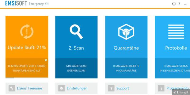Emsisoft Emergency Kit 10 ist erschienen