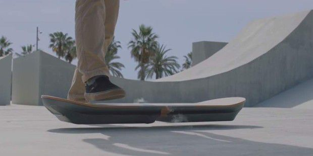 Lexus entwickelt Hoverboard à la Marty McFly