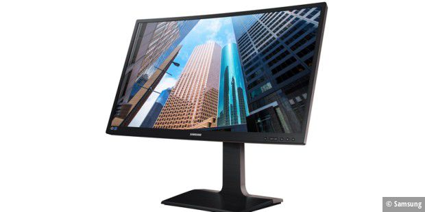 Der Curved Business Monitor Samsung S27E650C LED kommt Mitte Juli in den Handel