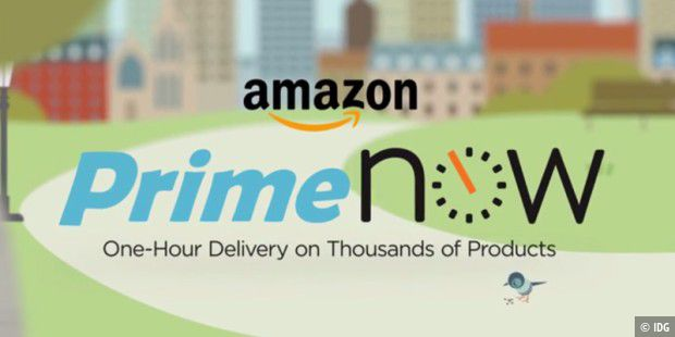 Amazon Prime Now ist nun in London verfügbar