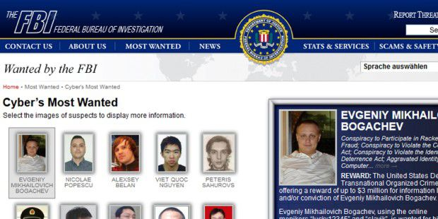 FBI Cyber's Most Wanted
