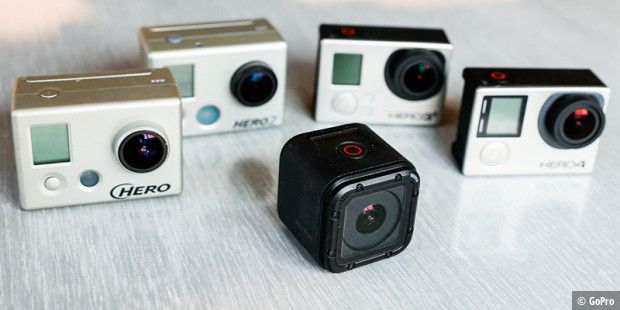 Die GoPro Hero4 Session soll 400 US-Dollar kosten