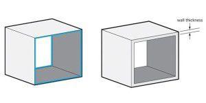 Die Rolle der Wandstärke im 3D-Druck
