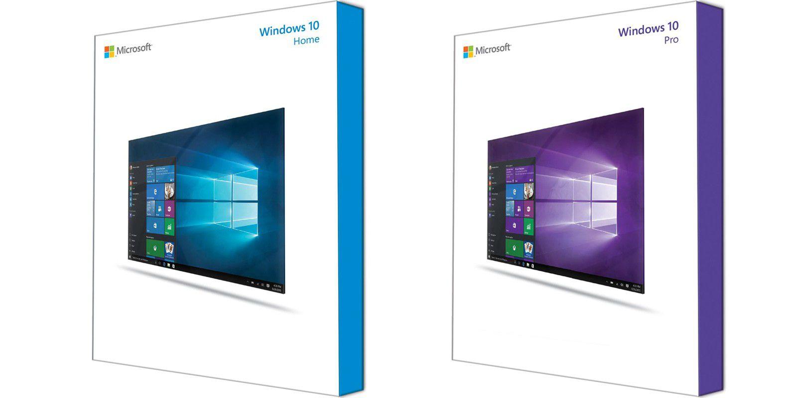 Windows 10: Sehen so die Box-Versionen aus? - PC-WELT