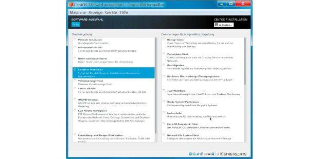 linux server mit cms virtuell in windows nutzen pc welt. Black Bedroom Furniture Sets. Home Design Ideas