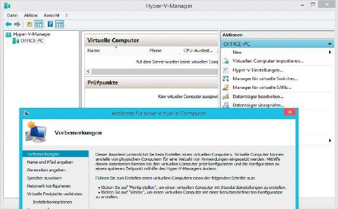 Beautiful Vergrößern Für Die Virtualisierung Mit Microsoft Hyper V Benötigen Sie  Einen Prozessor Mit Hardware Virtualisierung Und Mindestens 4 GB RAM.